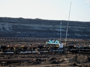 BCA measures coal ash-content and belt load at outgoing conveyors